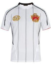Versace - Printed Jersey T-shirt - Lyst
