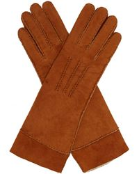 Isabel Marant - Yupiks Shearling Gloves - Lyst