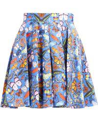 f070611ace05 Gerry Weber Jersey Butterfly Skirt - Lyst