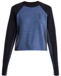 LNDR - Snug Colour-blocked Merino-wool Jumper - Lyst