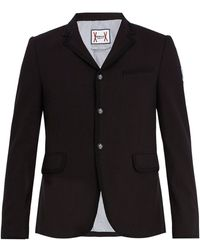 Moncler Gamme Bleu - Single-breasted Cotton Blazer - Lyst