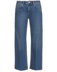 Raey - Flood Flared Jeans - Lyst