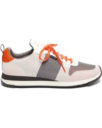 Paul Smith Baskets en maille Rappid - Blanc