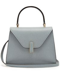 Valextra - Iside Mini Grained Leather Bag - Lyst