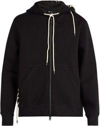 Craig Green - Laced Hooded Zip Through Sweatshirt - Lyst