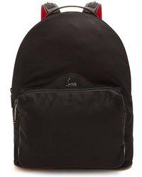 43cf14dcf26 Christian Louboutin - Backloubi Spike-embellished Backpack - Lyst