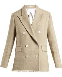 Golden Goose Deluxe Brand - Virna Double Breasted Canvas Jacket - Lyst