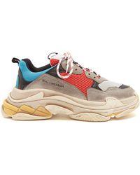 3bc9162c7356 Lyst - Balenciaga Trainers - Men s High   Low Top Shoes Online Sale