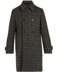 Stella McCartney - Houndstooth Wool-blend Coat - Lyst