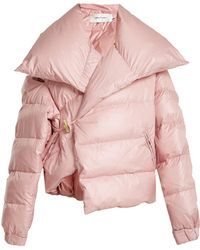 Marques'Almeida | Asymmetric Quilted Down Coat | Lyst