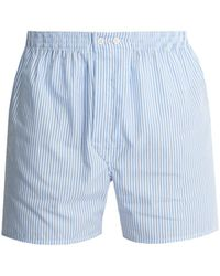 Derek Rose - Star 13 Pima Cotton-blend Boxer Trunks - Lyst