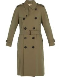 Burberry - Double-breasted Trench Coat - Lyst