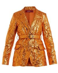 Sies Marjan - Terry Crinkled-finish Blazer - Lyst