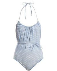 Lisa Marie Fernandez - Charlotte Polka-dot Bikini Swimsuit - Lyst