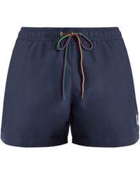Paul Smith - Zebra Appliqué Swim Shorts - Lyst