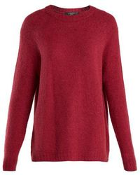 Weekend by Maxmara - Alpaca-blend Knitted Sweater - Lyst