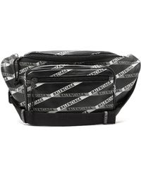 Balenciaga Explorer Printed Leather Belt Bag