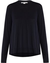 Stella McCartney | Asymmetric-hemline Wool Sweater | Lyst