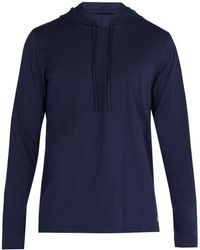 Polo Ralph Lauren - Hooded Cotton Pyjama Top - Lyst