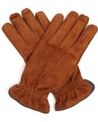 Brunello Cucinelli | Suede Gloves | Lyst