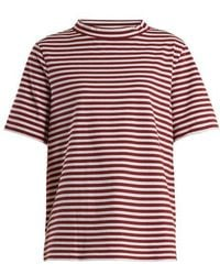 M.i.h Jeans - Penny Striped Cotton-jersey T-shirt - Lyst