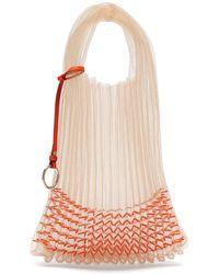 Jil Sander - Beaded Small Market Bag - Lyst