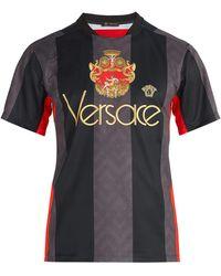 Versace - Logo Football Shirt - Lyst