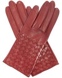 Bottega Veneta | Intrecciato Leather Gloves | Lyst
