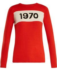 Bella Freud - 1970 Wool Jumper - Lyst