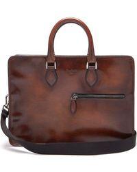Berluti - 4 Jours Venezia Leather Briefcase - Lyst