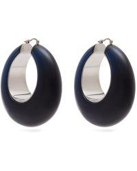 Loewe - Resin Hoop Earrings - Lyst