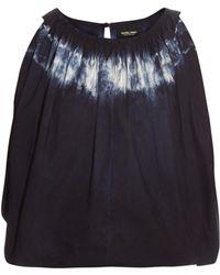 Rachel Comey - Antic Tie-dye Cropped Top - Lyst