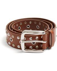 Isabel Marant | Rica Stud-embellished Leather Belt | Lyst