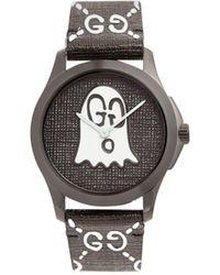 24620127c54 Lyst - Gucci Ghost G-timeless - Ya1264019 in Black