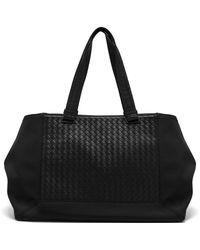 Bottega Veneta - Intrecciato Leather Tote Bag - Lyst