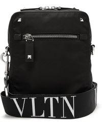 Valentino - Stud Embellished Nylon Bag - Lyst