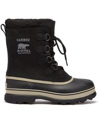 Sorel - Caribou Faux Shearling Lined Snow Boots - Lyst