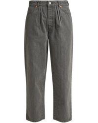 Chimala - Straight Leg Herringbone Jeans - Lyst
