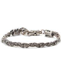 Emanuele Bicocchi | Bracelet In 925 Sterling Silver | Lyst