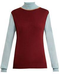 ROKSANDA - Elsta Wool Roll-neck Jumper - Lyst