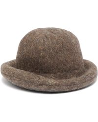 Acne Studios - X Stephen Jones Wool Blend Hat - Lyst