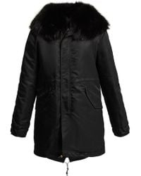 Mr & Mrs Italy - Hooded Quilted Parka Coat - Lyst