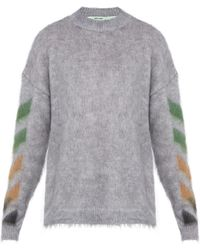 83a7f71a064843 Lyst - Men s Off-White c o Virgil Abloh Sweaters and knitwear Online ...