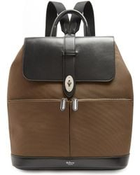 Mulberry - Reston Nylon And Leather Backpack - Lyst