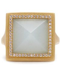Monique Péan - Diamond, Jade & Yellow-gold Ring - Lyst