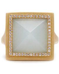 Monique Péan - Diamond, Jade & Yellow-gold Ring - Lyst