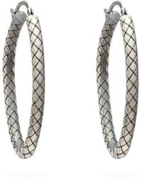 Bottega Veneta - - Cubic Zirconia And Sterling Silver Stud Earrings - Womens - Green - Lyst