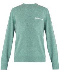 Rag & Bone   Victor Logo-embroidered Wool-blend Sweater   Lyst