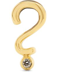 Alison Lou - Yellow Gold Top Hat Single Earring - Lyst