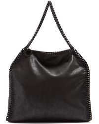 Stella McCartney | Falabella Faux-suede Shoulder Bag | Lyst